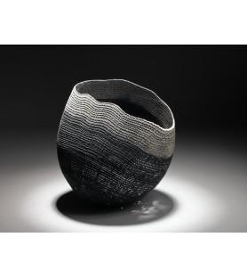 Large black/grey bowl