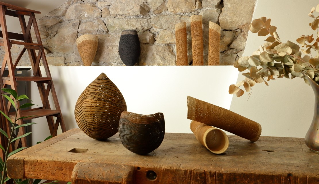 Tubes, vases, droplet and bowl